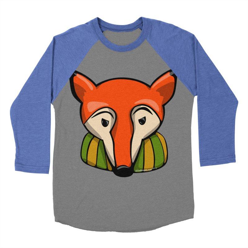Foxy Women's Baseball Triblend Longsleeve T-Shirt by elledeegee's Artist Shop