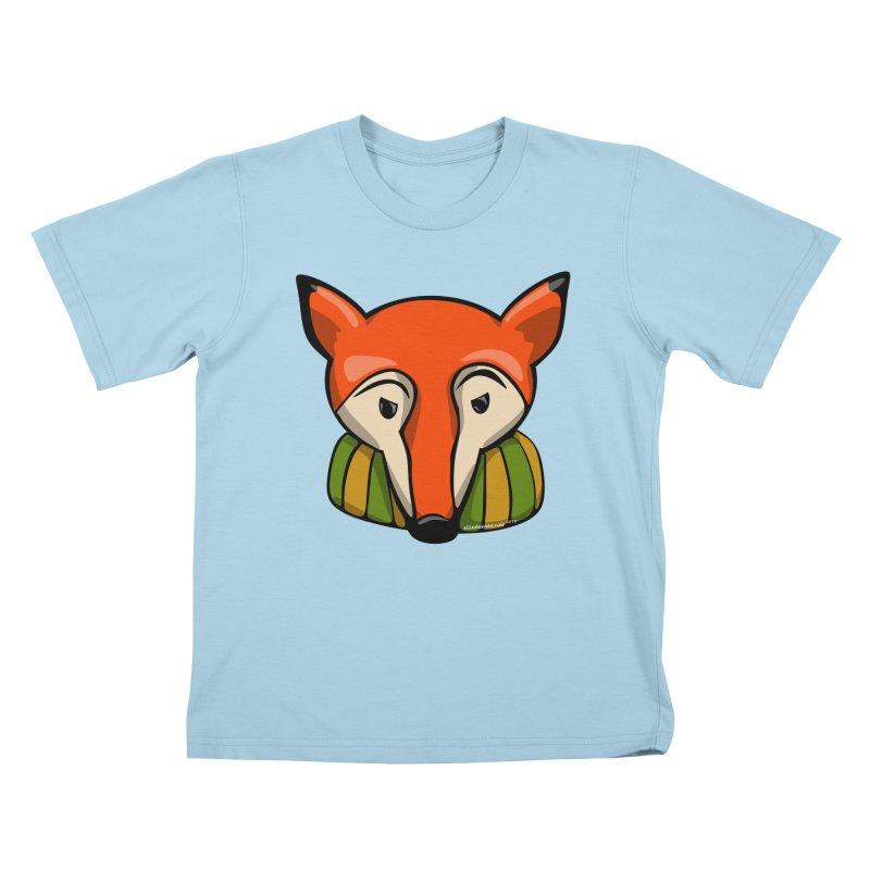 Foxy Kids T-Shirt by elledeegee's Artist Shop
