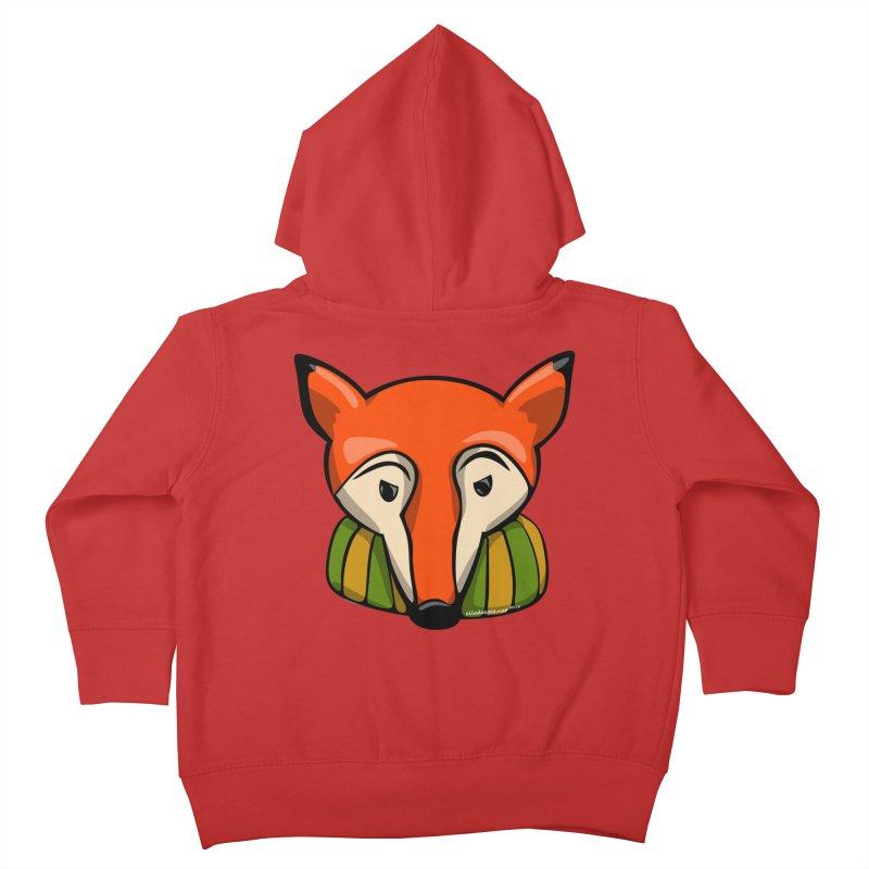 Foxy Kids Toddler Zip-Up Hoody by elledeegee's Artist Shop