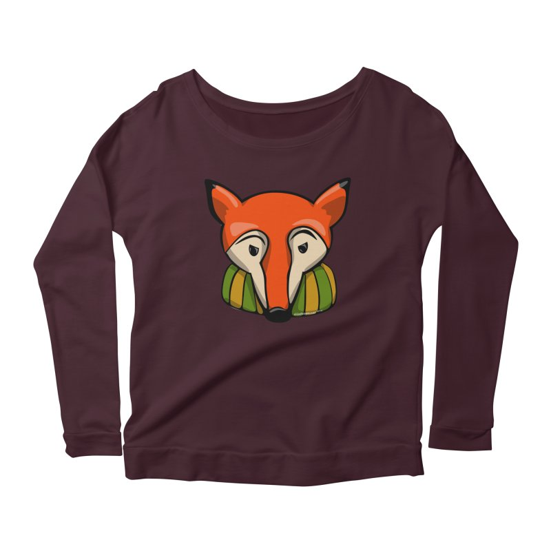 Foxy Women's Longsleeve T-Shirt by elledeegee's Artist Shop