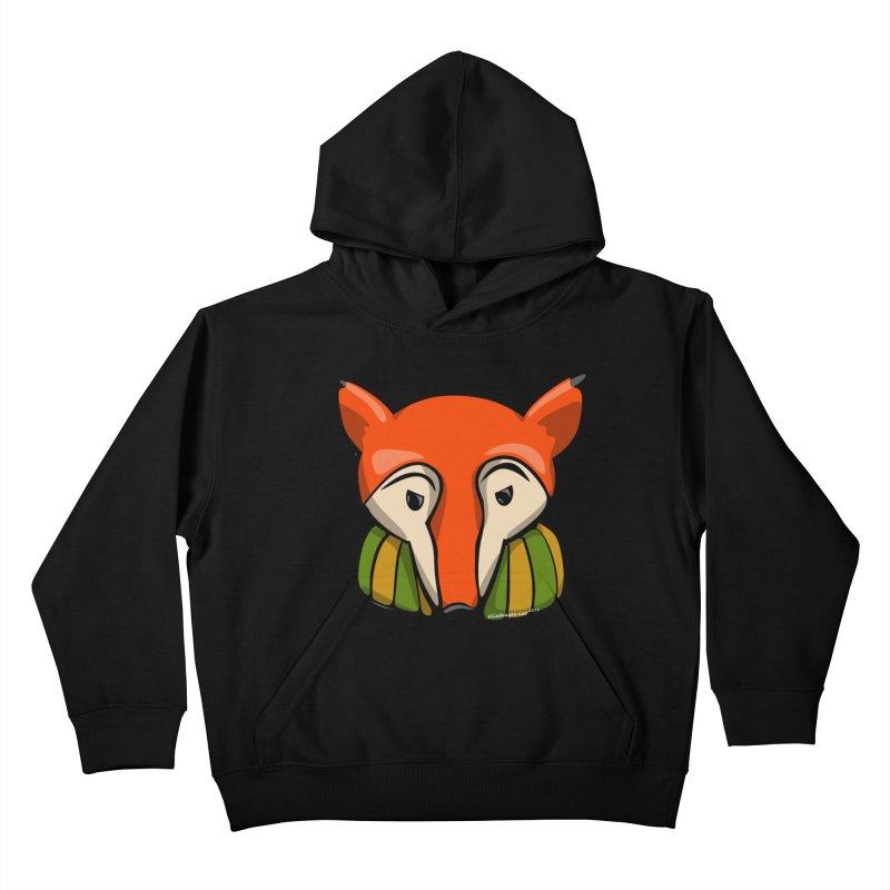 Foxy Kids Pullover Hoody by elledeegee's Artist Shop