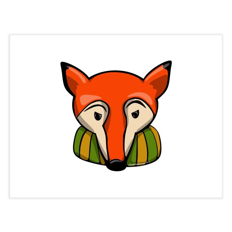 Foxy Home Fine Art Print by elledeegee's Artist Shop