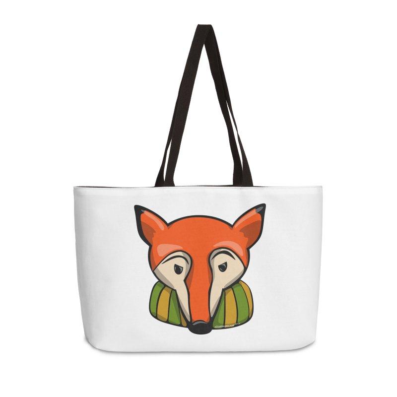 Foxy Accessories Weekender Bag Bag by elledeegee's Artist Shop