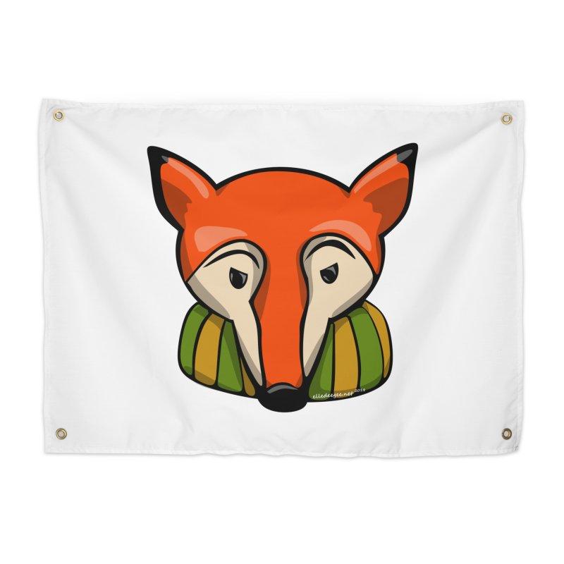 Foxy Home Tapestry by elledeegee's Artist Shop
