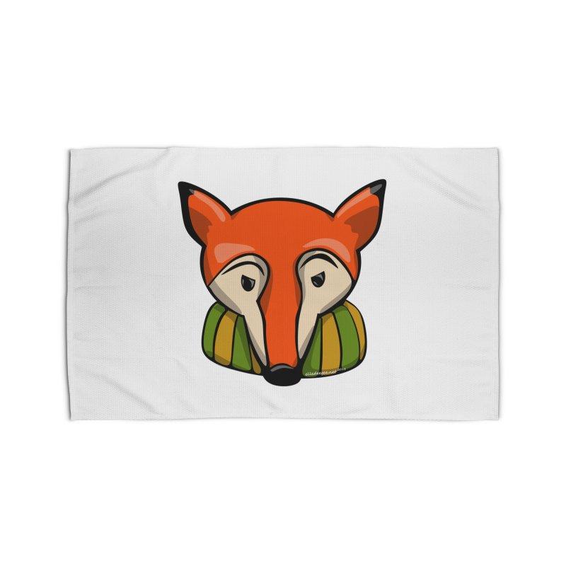 Foxy Home Rug by elledeegee's Artist Shop