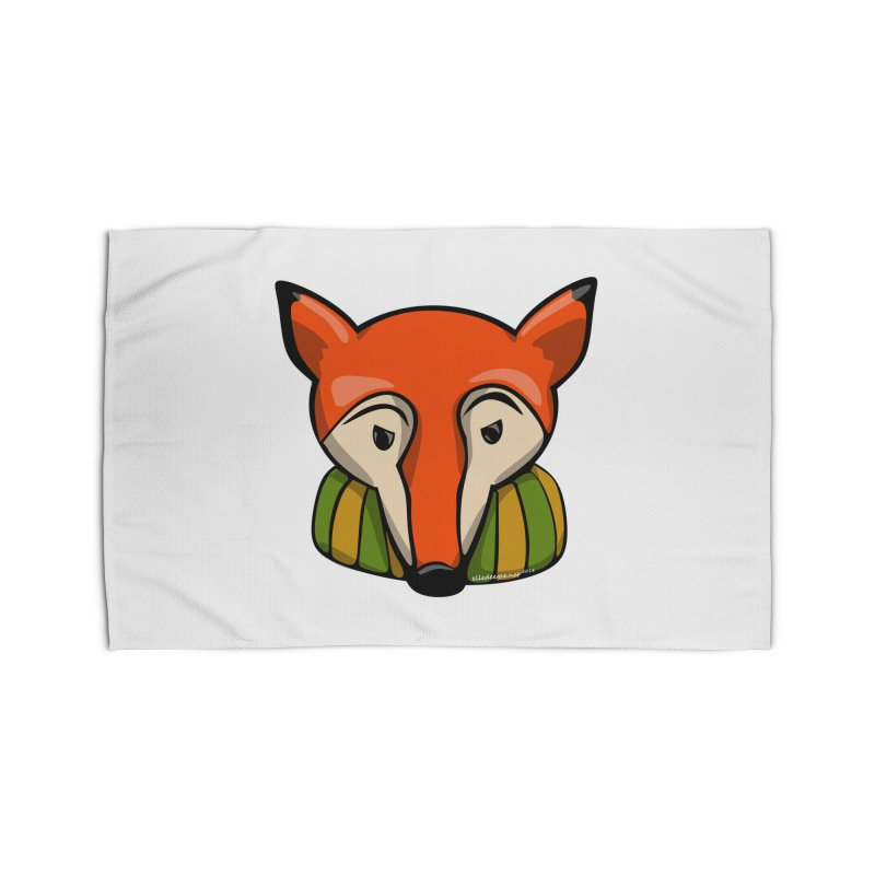 Foxy Home Rug by elledeegee's Artist Shop