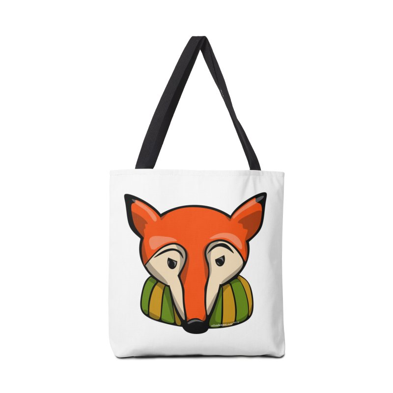 Foxy Accessories Tote Bag Bag by elledeegee's Artist Shop