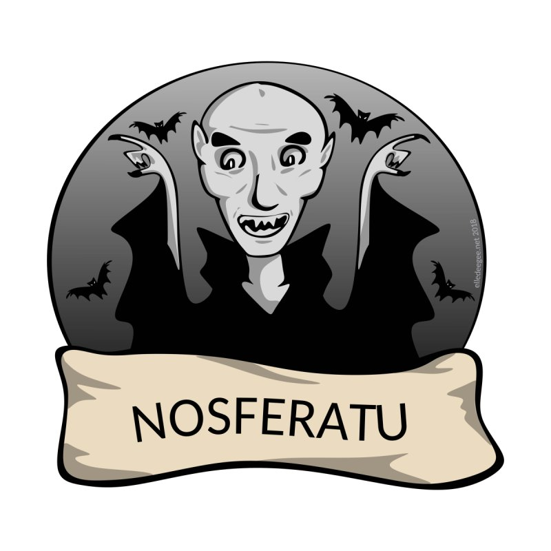 Nosferatu Home Stretched Canvas by elledeegee's Artist Shop