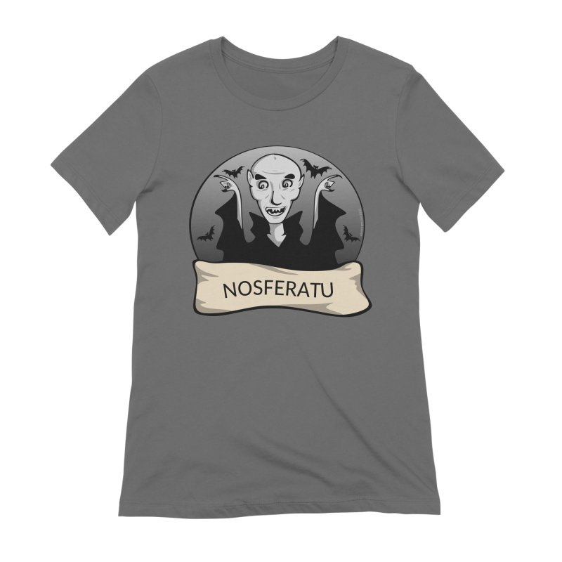 Nosferatu Women's Extra Soft T-Shirt by elledeegee's Artist Shop