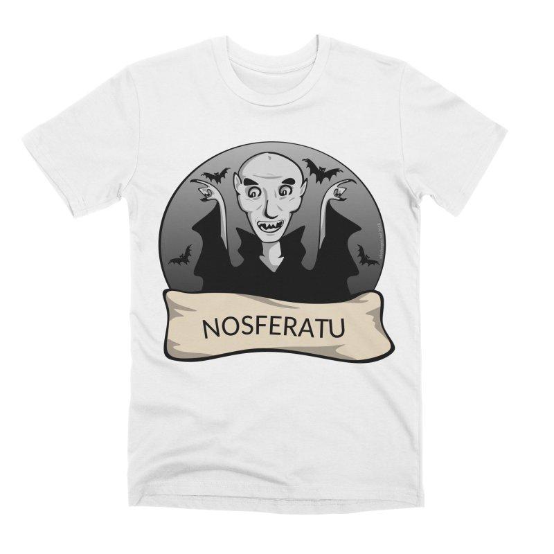 Nosferatu Men's Premium T-Shirt by elledeegee's Artist Shop