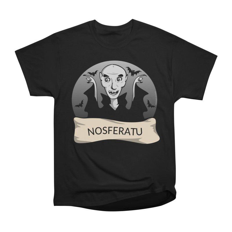 Nosferatu Men's Heavyweight T-Shirt by elledeegee's Artist Shop