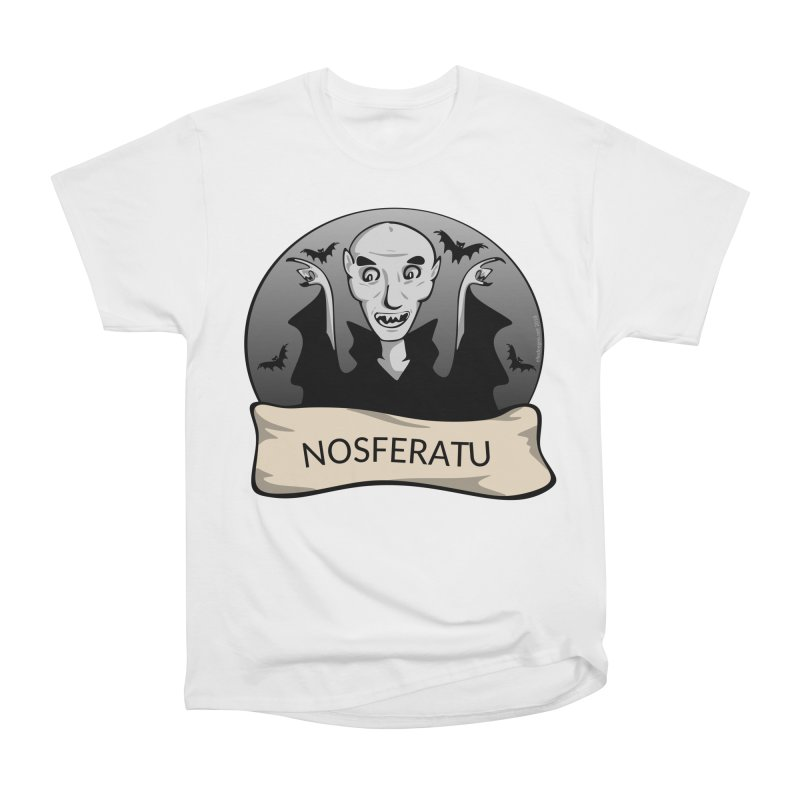 Nosferatu Women's Heavyweight Unisex T-Shirt by elledeegee's Artist Shop