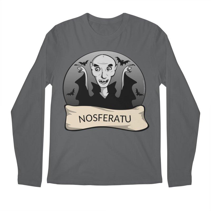 Nosferatu Men's Regular Longsleeve T-Shirt by elledeegee's Artist Shop