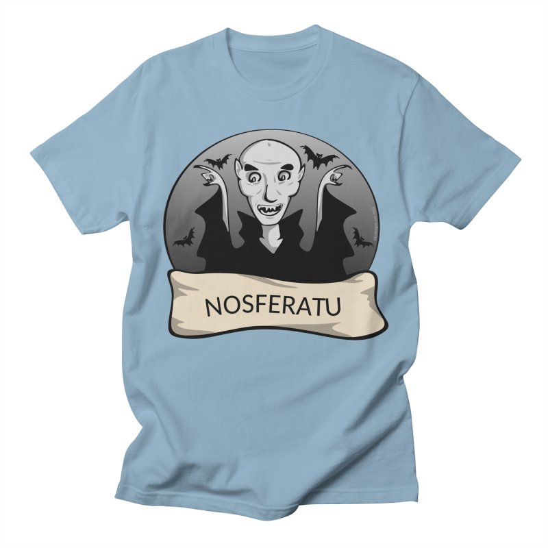 Nosferatu Men's Regular T-Shirt by elledeegee's Artist Shop