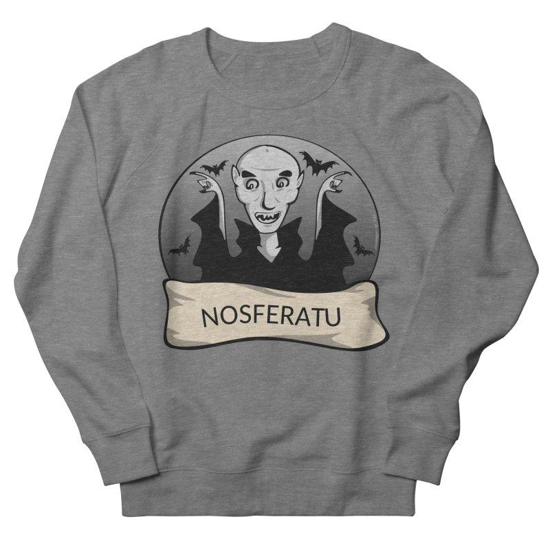 Nosferatu Women's French Terry Sweatshirt by elledeegee's Artist Shop