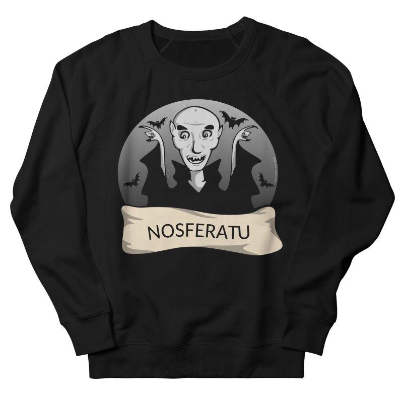 Nosferatu Men's French Terry Sweatshirt by elledeegee's Artist Shop