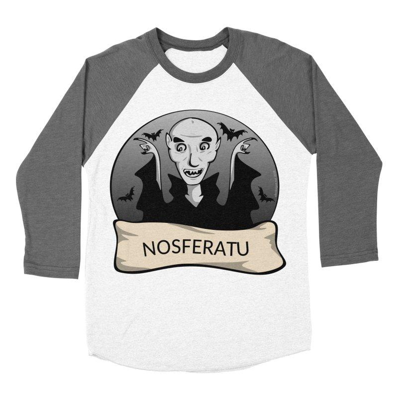 Nosferatu Men's Baseball Triblend Longsleeve T-Shirt by elledeegee's Artist Shop