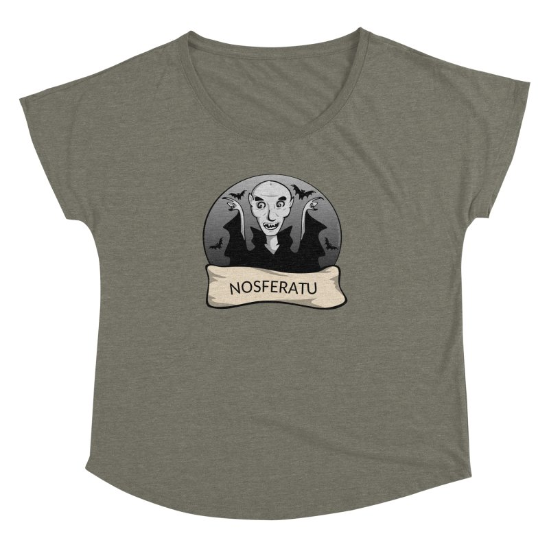 Nosferatu Women's Dolman Scoop Neck by elledeegee's Artist Shop