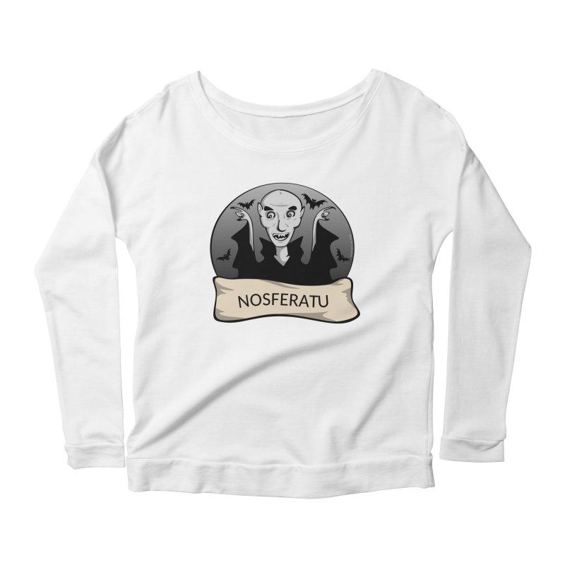 Nosferatu Women's Scoop Neck Longsleeve T-Shirt by elledeegee's Artist Shop