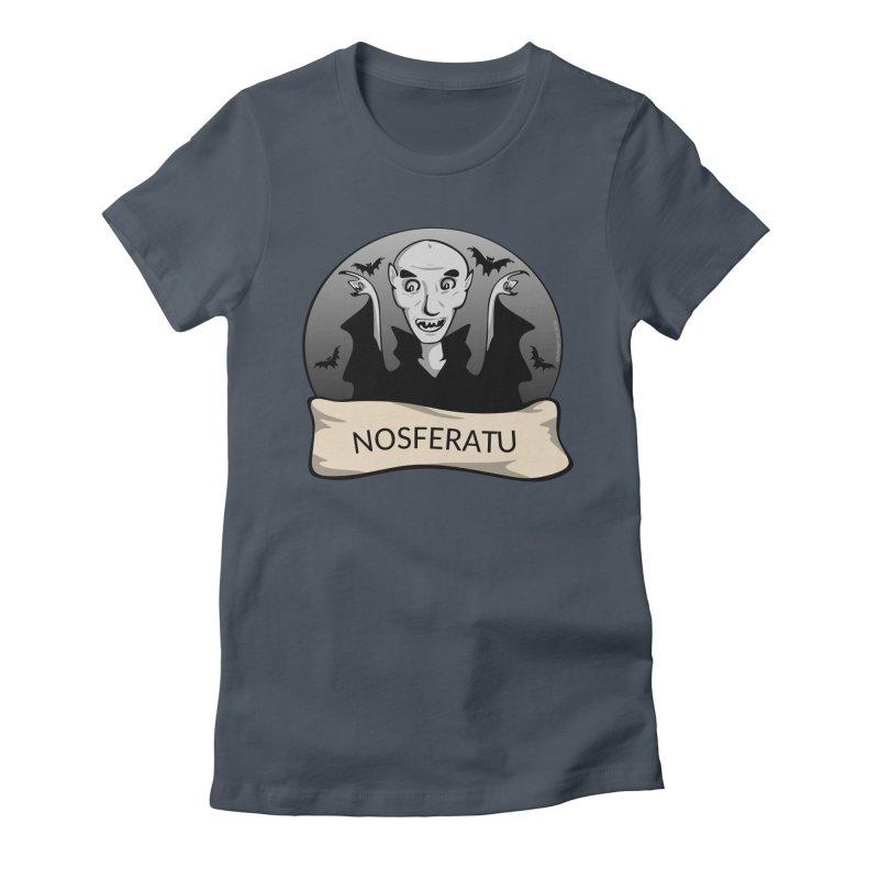 Nosferatu Women's T-Shirt by elledeegee's Artist Shop