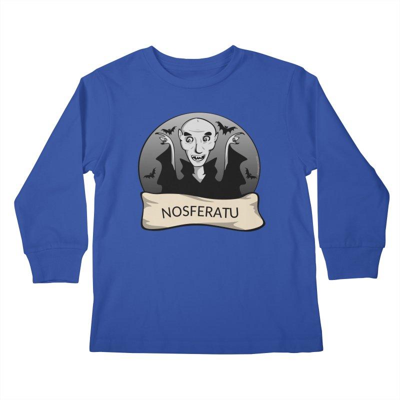 Nosferatu Kids Longsleeve T-Shirt by elledeegee's Artist Shop