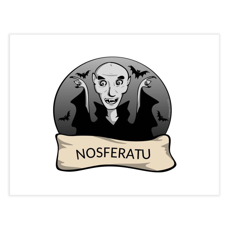 Nosferatu Home Fine Art Print by elledeegee's Artist Shop