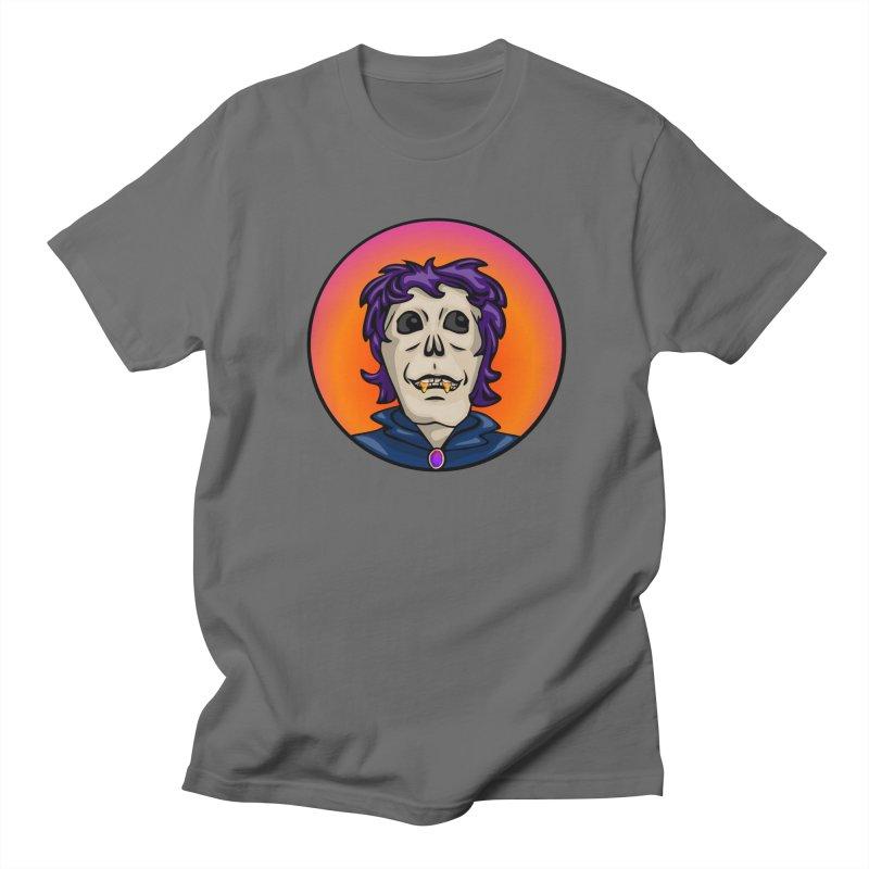 Candy Corn Zombie Vamp Men's French Terry Zip-Up Hoody by elledeegee's Artist Shop