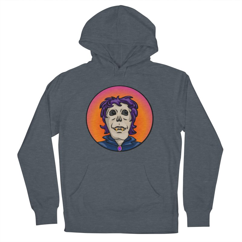 Candy Corn Zombie Vamp Women's French Terry Pullover Hoody by elledeegee's Artist Shop