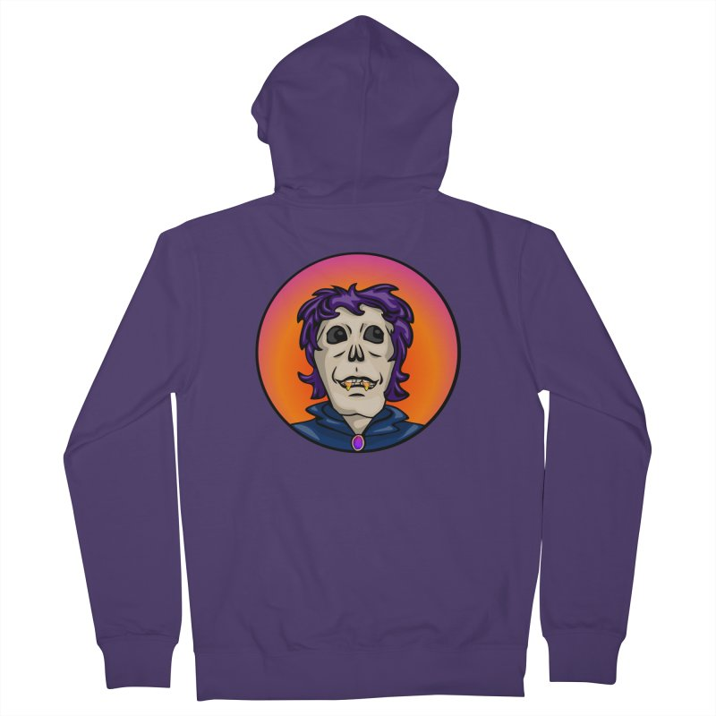 Candy Corn Zombie Vamp Women's Zip-Up Hoody by elledeegee's Artist Shop