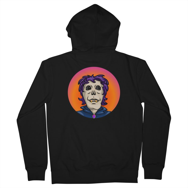 Candy Corn Zombie Vamp Women's French Terry Zip-Up Hoody by elledeegee's Artist Shop