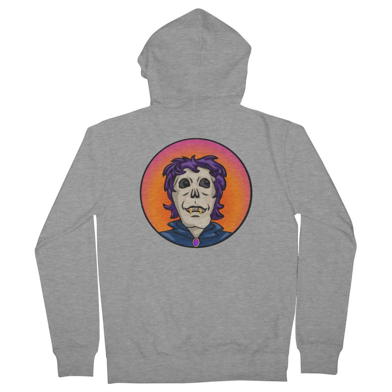 Candy Corn Zombie Vamp Men's Zip-Up Hoody by elledeegee's Artist Shop