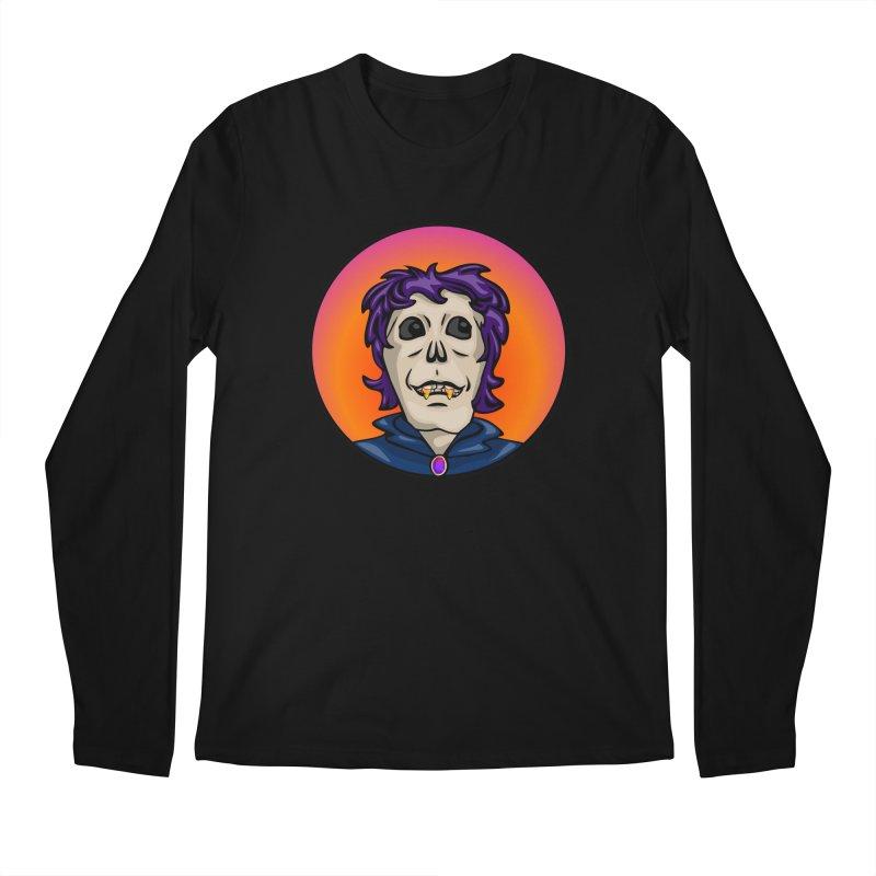 Candy Corn Zombie Vamp Men's Regular Longsleeve T-Shirt by elledeegee's Artist Shop