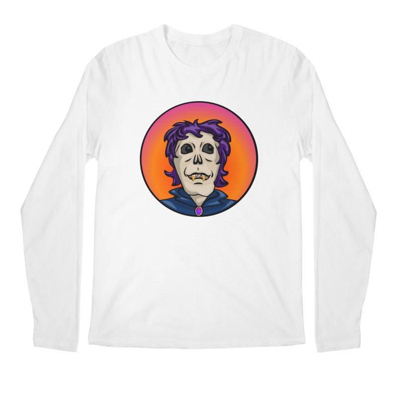 Candy Corn Zombie Vamp Men's Longsleeve T-Shirt by elledeegee's Artist Shop