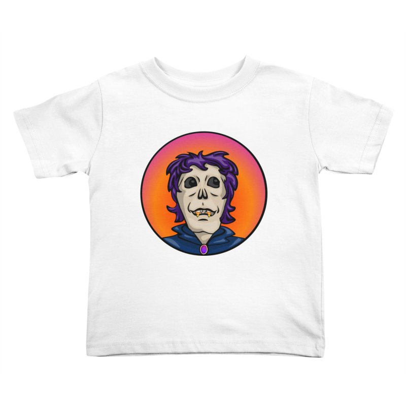 Candy Corn Zombie Vamp Kids Toddler T-Shirt by elledeegee's Artist Shop