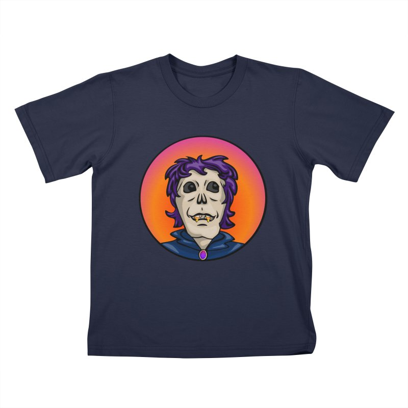 Candy Corn Zombie Vamp Kids T-Shirt by elledeegee's Artist Shop
