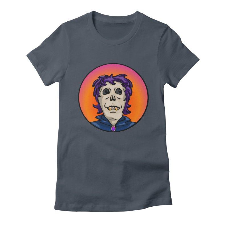 Candy Corn Zombie Vamp Women's T-Shirt by elledeegee's Artist Shop