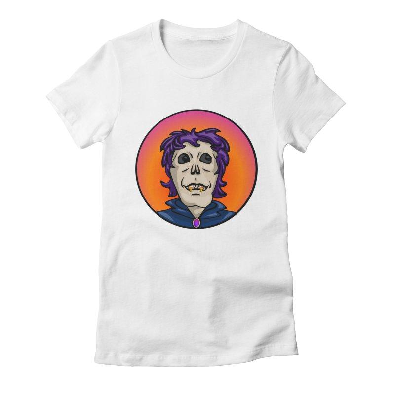 Candy Corn Zombie Vamp Women's Fitted T-Shirt by elledeegee's Artist Shop
