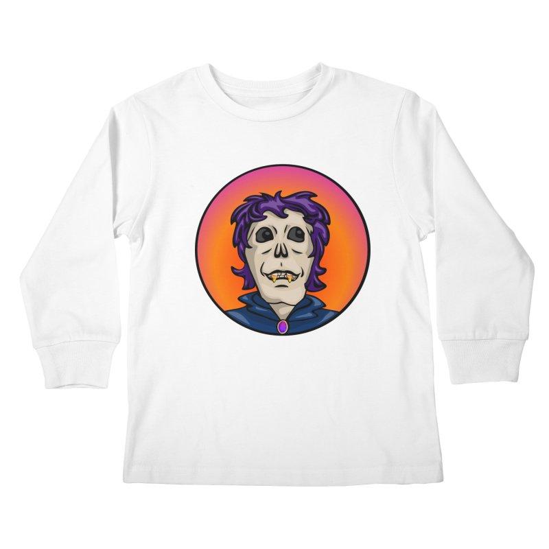 Candy Corn Zombie Vamp Kids Longsleeve T-Shirt by elledeegee's Artist Shop