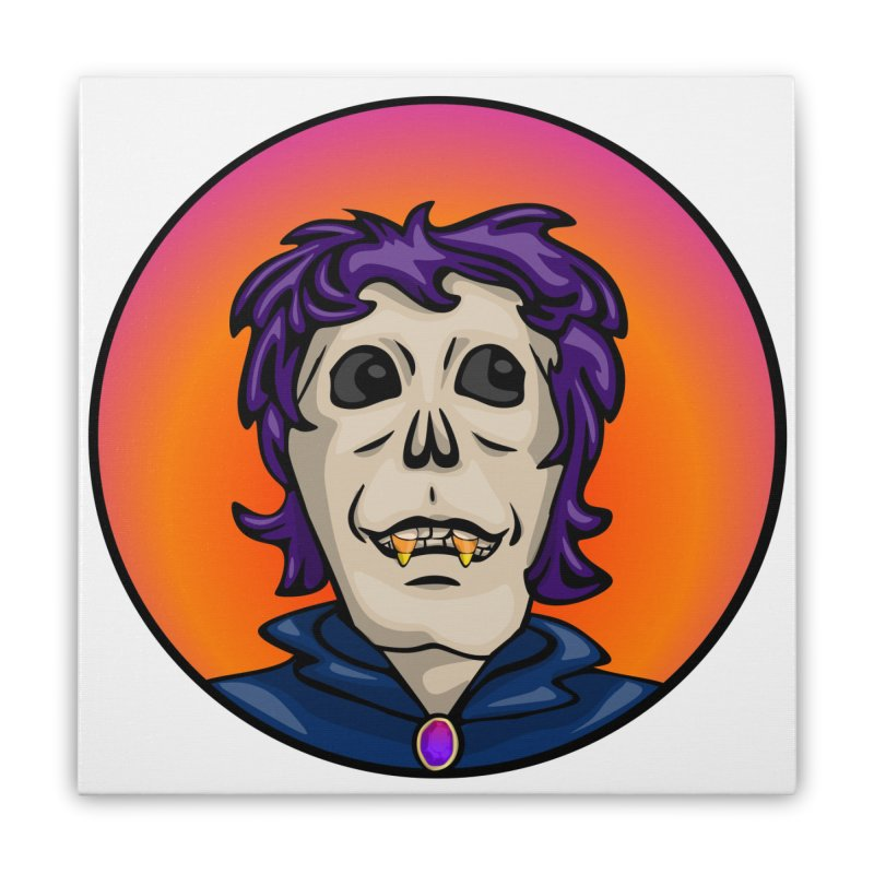 Candy Corn Zombie Vamp Home Stretched Canvas by elledeegee's Artist Shop