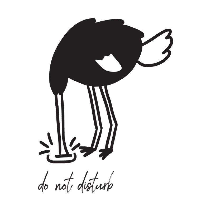 Do Not Disturb Men's T-Shirt by Ellemsee Media's Artist Shop