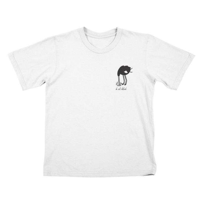 Do Not Disturb Kids T-Shirt by Ellemsee Media's Artist Shop
