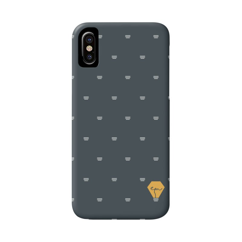 Full of ideas in iPhone X / XS Phone Case Slim by Ellemsee Media's Artist Shop
