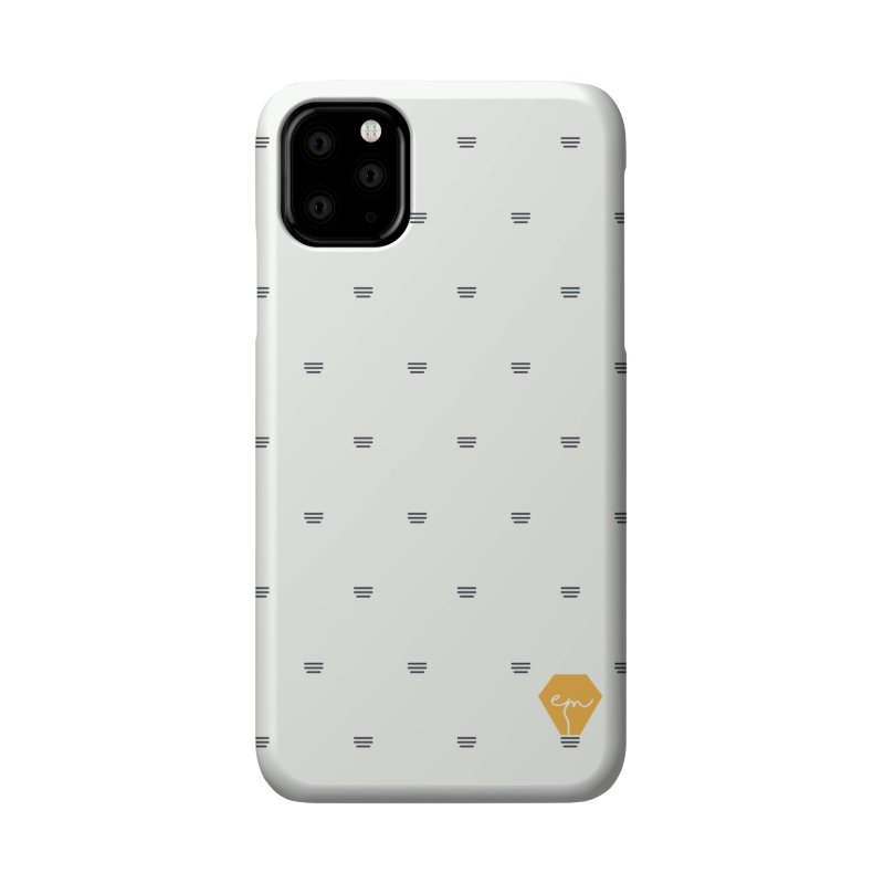Full of Ideas - White Accessories Phone Case by Ellemsee Media's Artist Shop