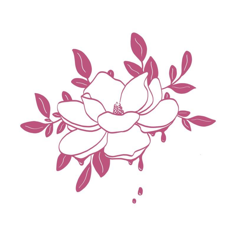Pink magnolia by Ellen Wilberg