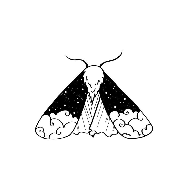 Nightsky Moth by Ellen Wilberg