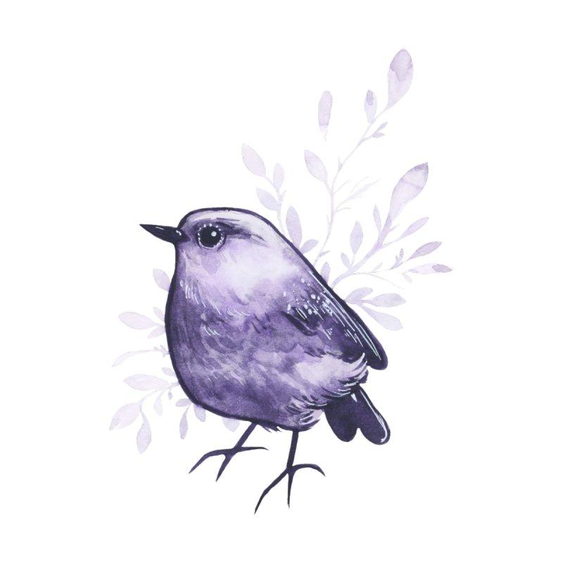 Amethyst Bird by Ellen Wilberg
