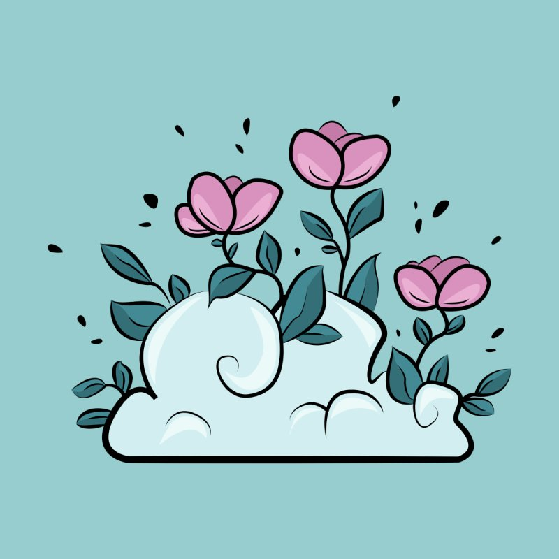 Flower Cloud by Ellen Wilberg