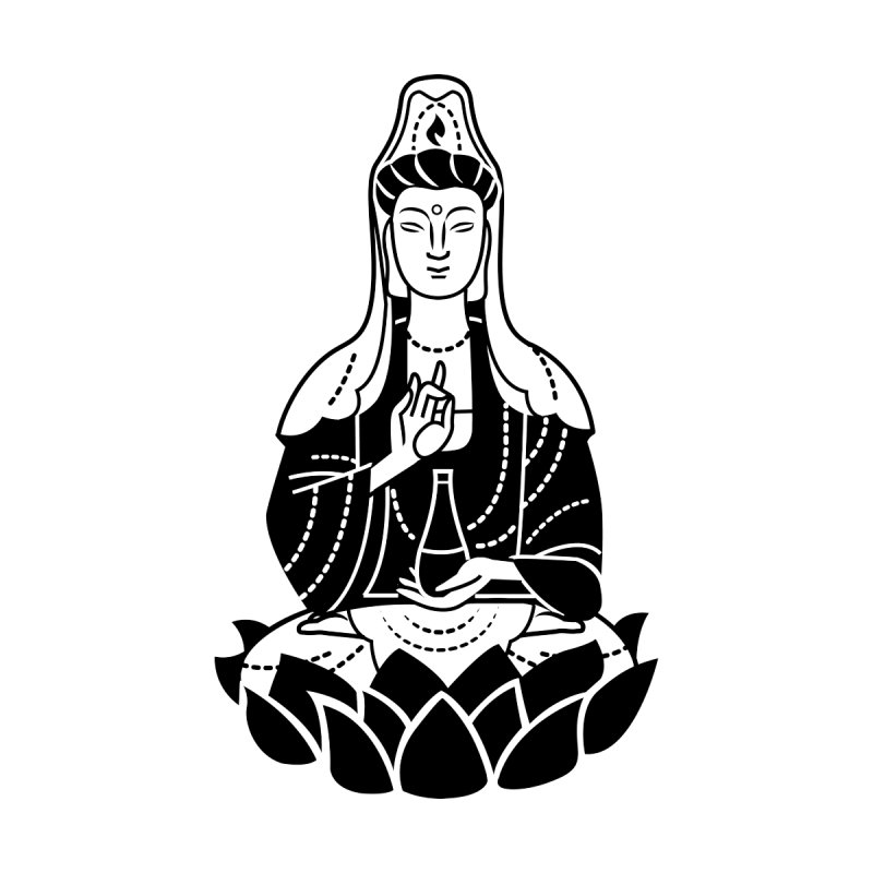 Quan Yin by ellingson's Artist Shop