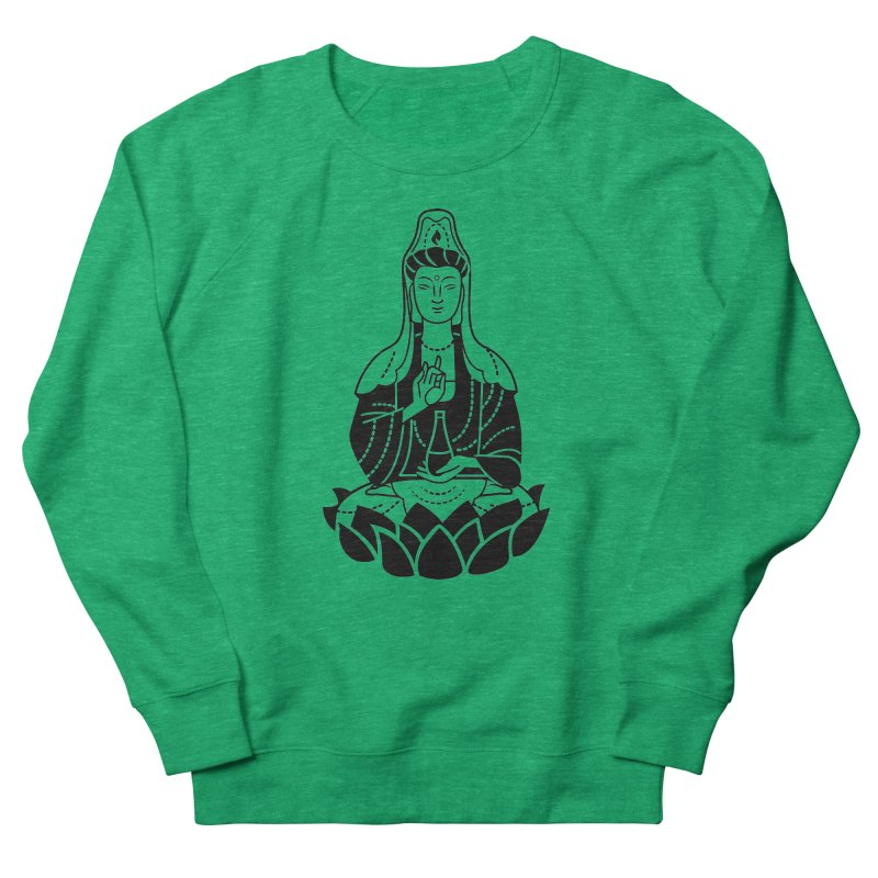 Quan Yin Women's Sweatshirt by ellingson's Artist Shop