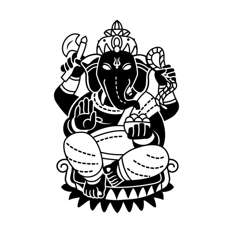 Ganesh Kids Toddler T-Shirt by ellingson's Artist Shop
